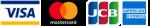 VISA MasterCard JCB AMERICSN EXPRESS