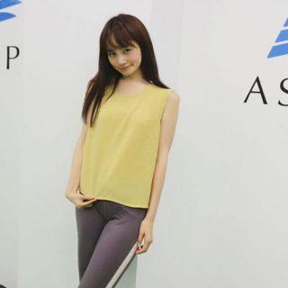 モデルの野村日香理さんが来館されました💃