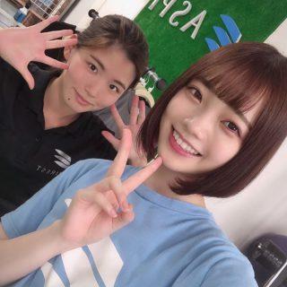モデルの新谷姫加さんがご来館されました!